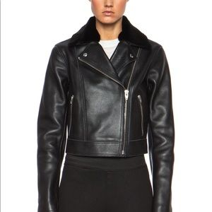 Alexander Wang Leather Jacket.